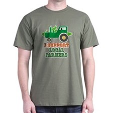 I Support Local Farmers T-Shirt