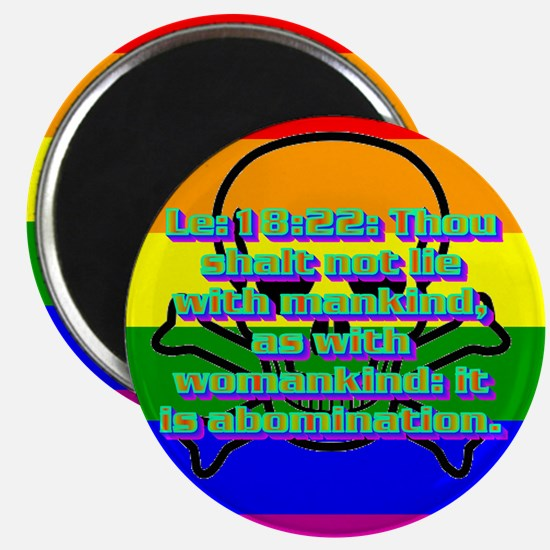 Leviticus 18:22 Magnet