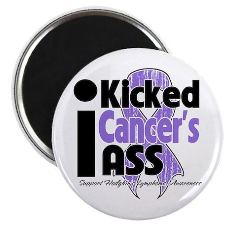"I Kicked Hodgkins Ass 2.25"" Magnet (100 pack)"