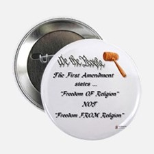 """Freedom Of Religion 2.25"""" Button"""