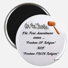 Freedom Of Religion Magnet