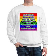 Leviticus 18:22 Sweatshirt