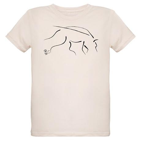 Tracking Dog - black Organic Kids T-Shirt