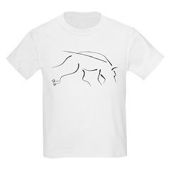 Tracking Dog - black T-Shirt