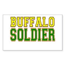 Buffalo Soldier Decal