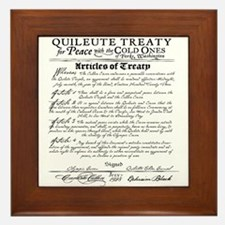 Twilight Cullen Treaty Framed Tile