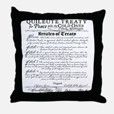 Twilight Cullen Treaty Throw Pillow