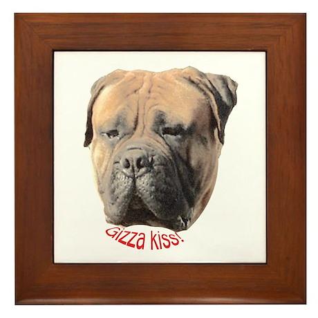 Bull Mastiff Framed Tile