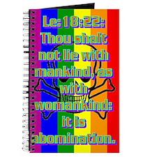 Leviticus 18:22 Journal