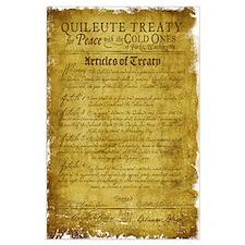 Twilight Cullen Treaty Large Poster