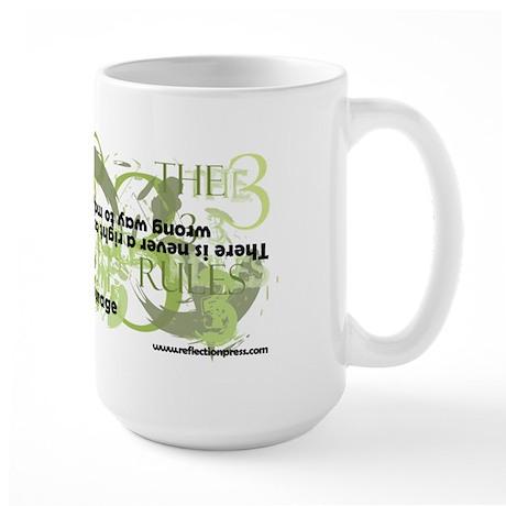 The 3 Rules Large Mug