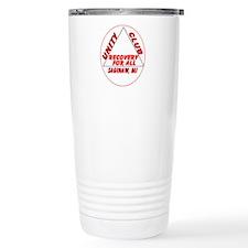 RED UNITY LOGO Travel Mug