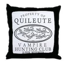 Vampire Hunt Club Throw Pillow