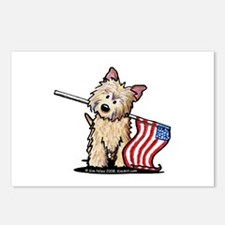 Patriotic Cairn Postcards (Package of 8)