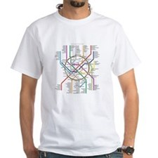 Moscow Metro Map Shirt