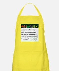 """Garlic Makes it Good"" Apron"