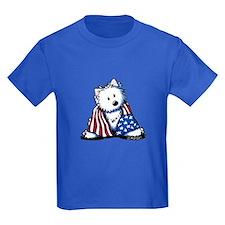 Patriotic Westie T