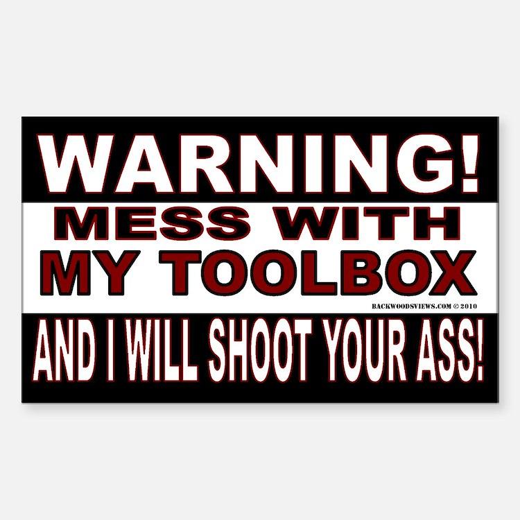 Warning Toolbox Decal
