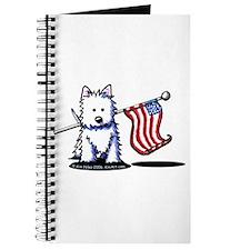 US Flag Westie Journal
