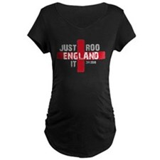 England Shirt Just Roo It Maternity T-Shirt