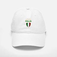 Soccer Crest ITALIA gold Baseball Baseball Cap