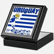 Uruguayan soccer Keepsake Box