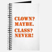 Clown? 5 Journal