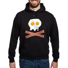 Eggs Bacon Skull Hoody