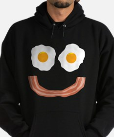 Eggs Bacon Smiley Hoodie
