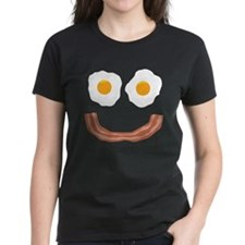 Eggs Bacon Smiley Tee