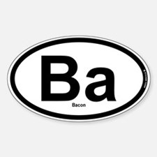 Ba - Bacon Decal