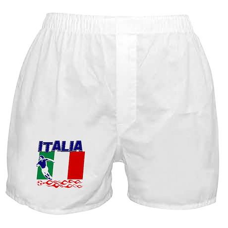 Italian soccer Boxer Shorts