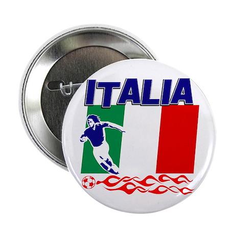 "Italian soccer 2.25"" Button (10 pack)"