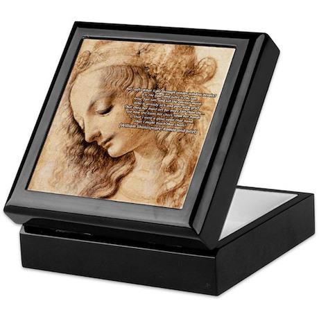 Da Vinci Art with Shakespeare Keepsake Box