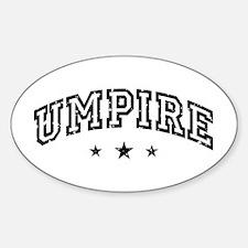 Umpire Decal