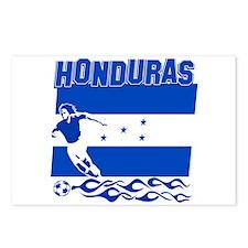 Honduran soccer Postcards (Package of 8)