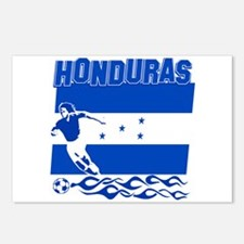 Honduran soccer Postcards (Package of 8)