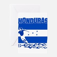 Honduran soccer Greeting Card