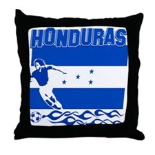 Honduran soccer Throw Pillow