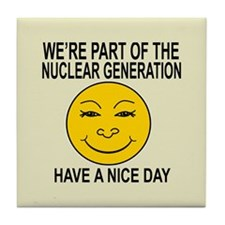 Nuclear Generation Tile Coaster