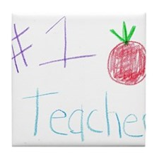 CKA-8-MP #1 Teacher Tile Coaster