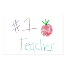 CKA-8-MP #1 Teacher Postcards (Package of 8)