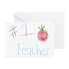 CKA-8-MP #1 Teacher Greeting Cards (Pk of 10)
