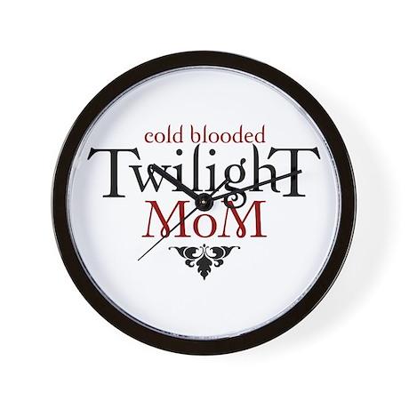 Twilight Mom Wall Clock