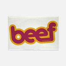 Beef Rectangle Magnet