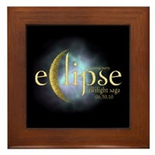 Twilight Saga Eclipse by UTeezSF.com Framed Tile