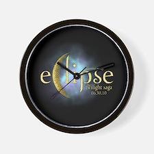 Twilight Saga Eclipse by UTeezSF.com Wall Clock