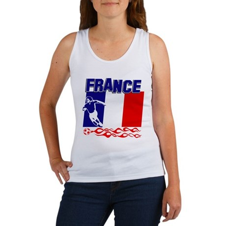 French Soccer Women's Tank Top