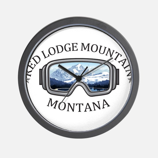 Red Lodge Mountain Resort - Red Lodge Wall Clock