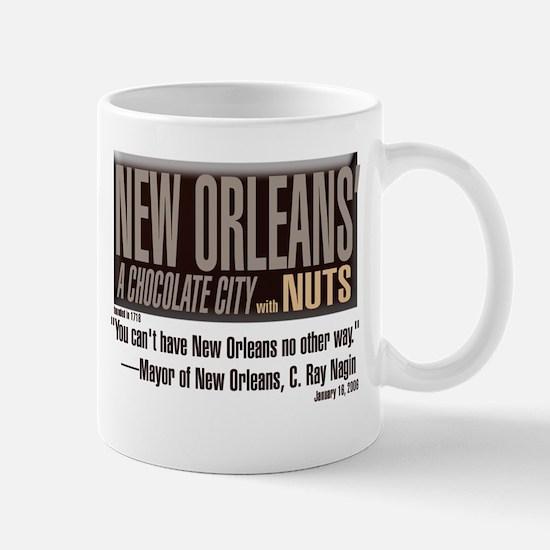"New Orleans ""Chocolate City"" Coffee Mug"